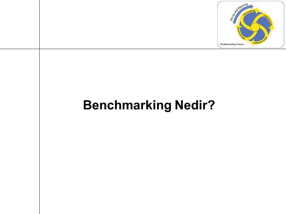 İçsel Benchmarking Benchmarking Türleri
