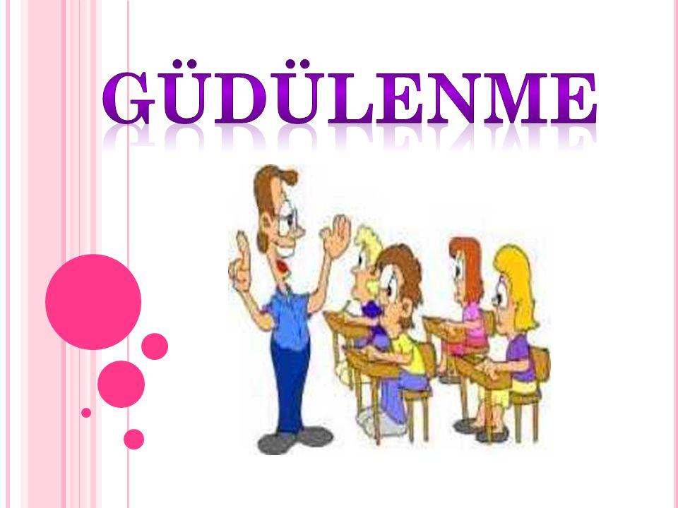 Öğrenciyi Güdüleme Yolları 12) Öğrencinin üzerindeki baskı en aza indirilmelidir.Örneğin;bireyler arasında karşılaştırılma yapılmamalıdır.