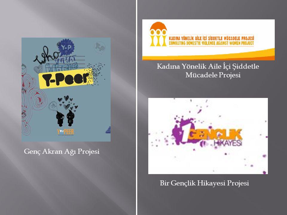 Genç Akran Ağı Projesi Bir Gençlik Hikayesi Projesi Kadına Yönelik Aile İçi Şiddetle Mücadele Projesi