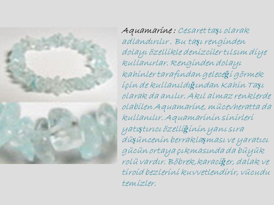 Obsidyen : Renginden dolayı kimileri ona Kara Kadife de derler. Obsidyen in en tutulan cinsi üzerinde beyaz lekeler olan Kar Taneli obsidyendir. Bu tü