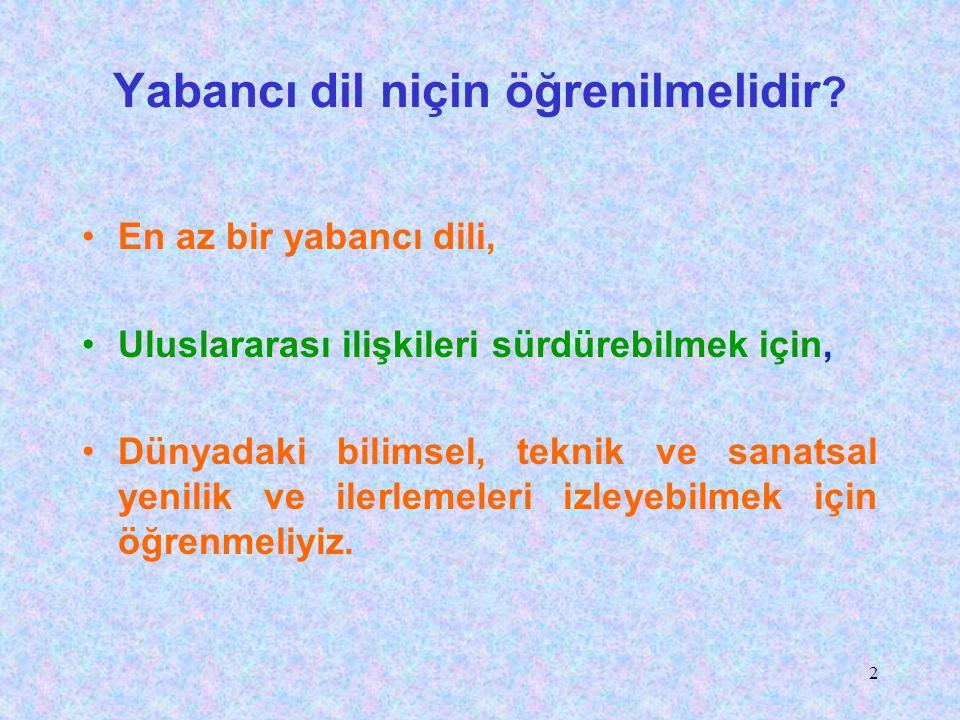 32 Uzun Sözün Kısası Rona Aybay'ın dediği gibi: Yabancı dille eğitim, Türkün, Türke yaptığı bir işkencedir. Türkçem, benim ses bayrağım diyen herkes bu işkenceye dur demelidir.