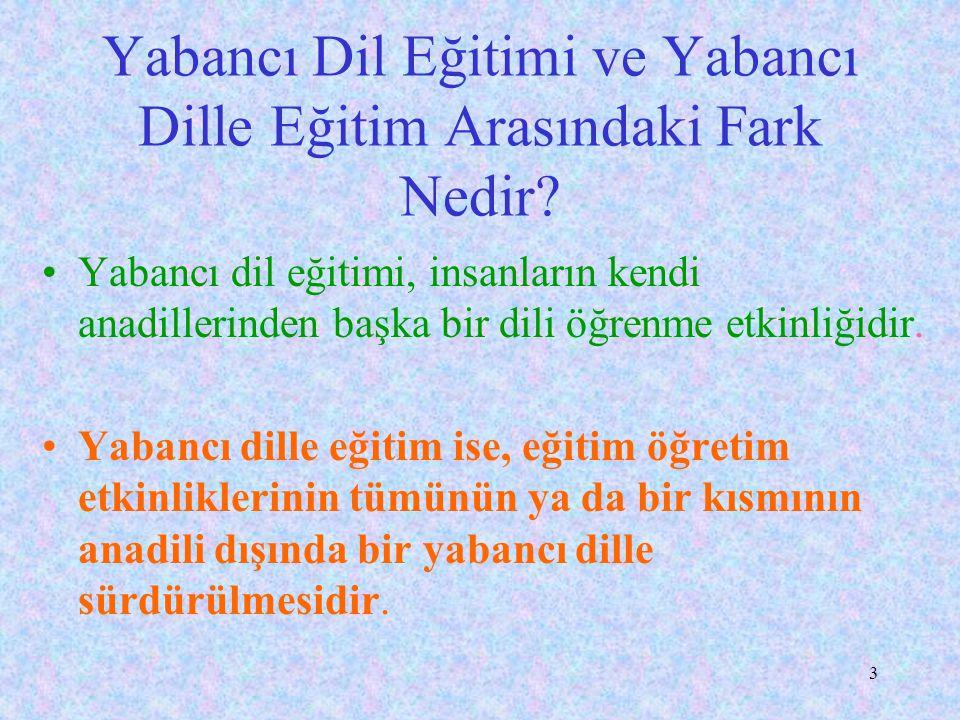 23 Dil-kültür ilişkisi Ulusal dil Türkçe ölürse, kültürümüz de ölür.