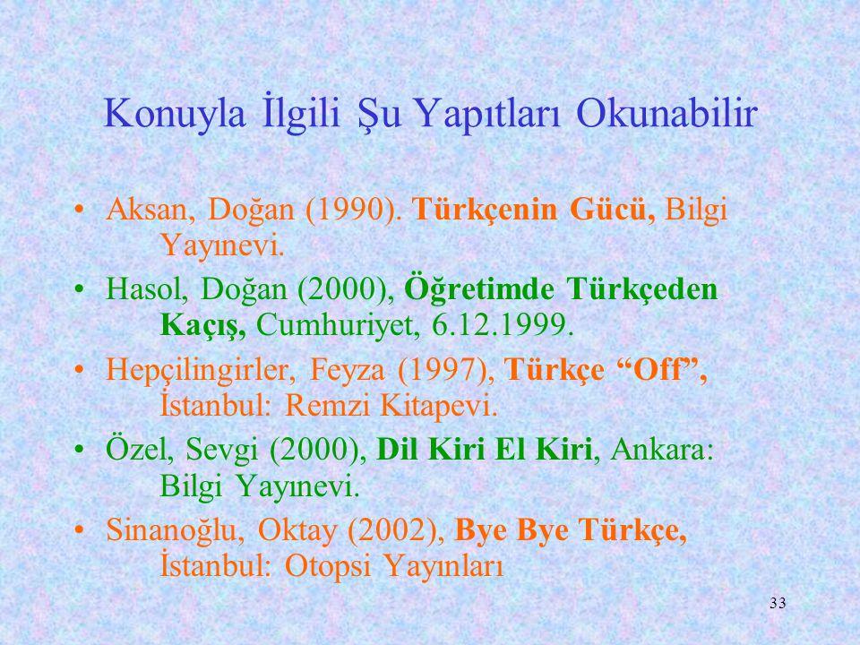 """32 Uzun Sözün Kısası Rona Aybay'ın dediği gibi: """"Yabancı dille eğitim, Türkün, Türke yaptığı bir işkencedir."""" """"Türkçem, benim ses bayrağım"""" diyen herk"""