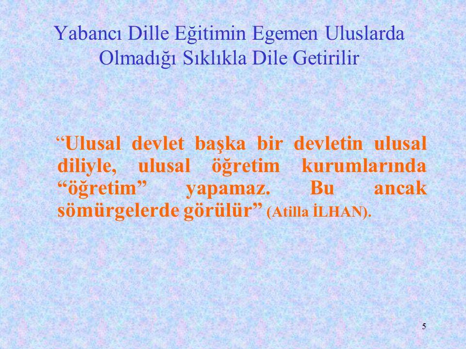 15 Türkçeyle Bilim Yapılamaz mı.