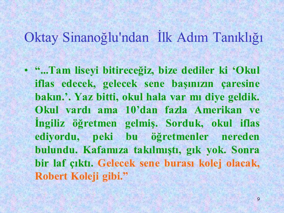 8 Ülkemizde Yabancı Dille Eğitimin Kısa Tarihçesi Atatürk, Kurtuluş savaşı sırasında misyoner okullarının etkinliklerinden çok çekmiştir. Bu yüzden eğ