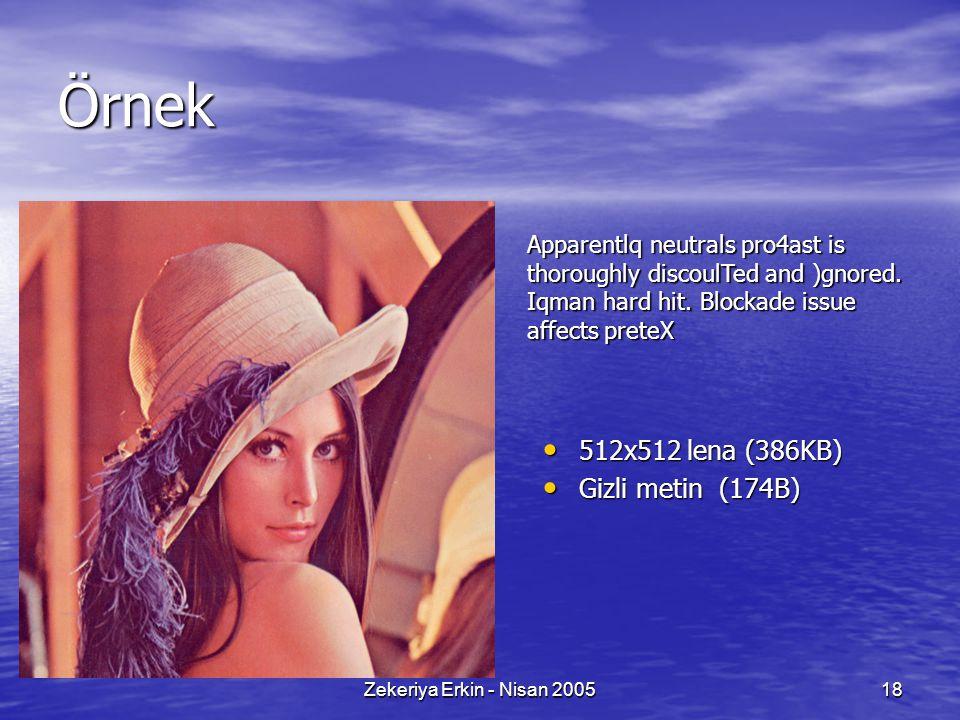 Zekeriya Erkin - Nisan 200518 Örnek Apparentlq neutrals pro4ast is thoroughly discoulTed and )gnored.