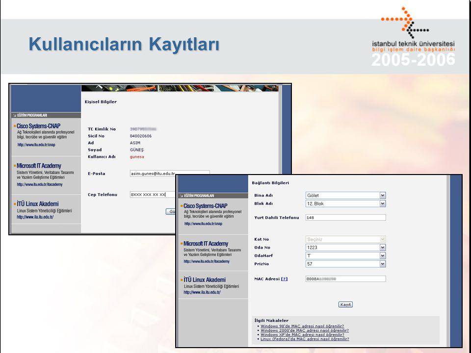 Kullanıcı yaptığı isteğin hangi aşamada olduğunu internet üzerinden takip edebiliyor.