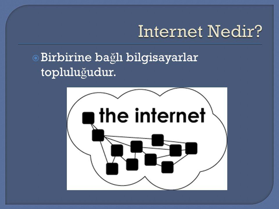 IP ADRESİ KAVRAMI Bir router, iki farklı ağ arasında ileri ve geri taşıma yaptığı için, her iki ağda da tanımlı olmalıdır (her iki ağda da adresi olmalıdır).