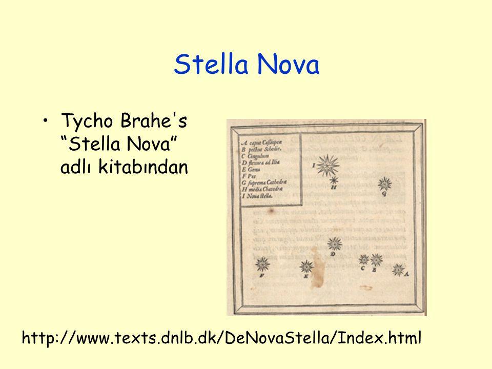 "Stella Nova Tycho Brahe's ""Stella Nova"" adlı kitabından http://www.texts.dnlb.dk/DeNovaStella/Index.html"