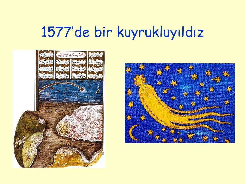 1577'de bir kuyrukluyıldız