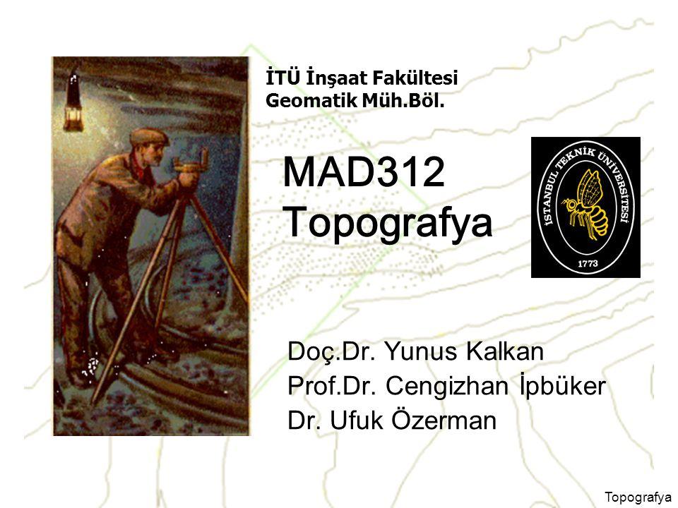 Topografya Dersi Veren Öğretim Üyeleri ve İletişim Bilgileri
