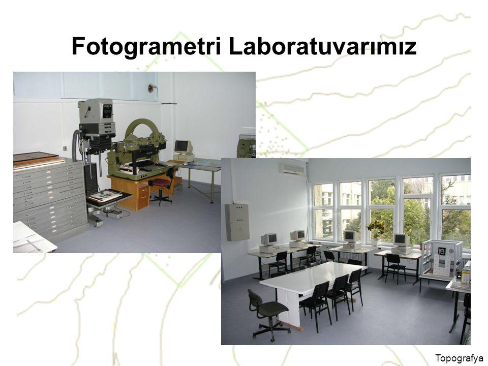 Topografya Fotogrametri Laboratuvarımız