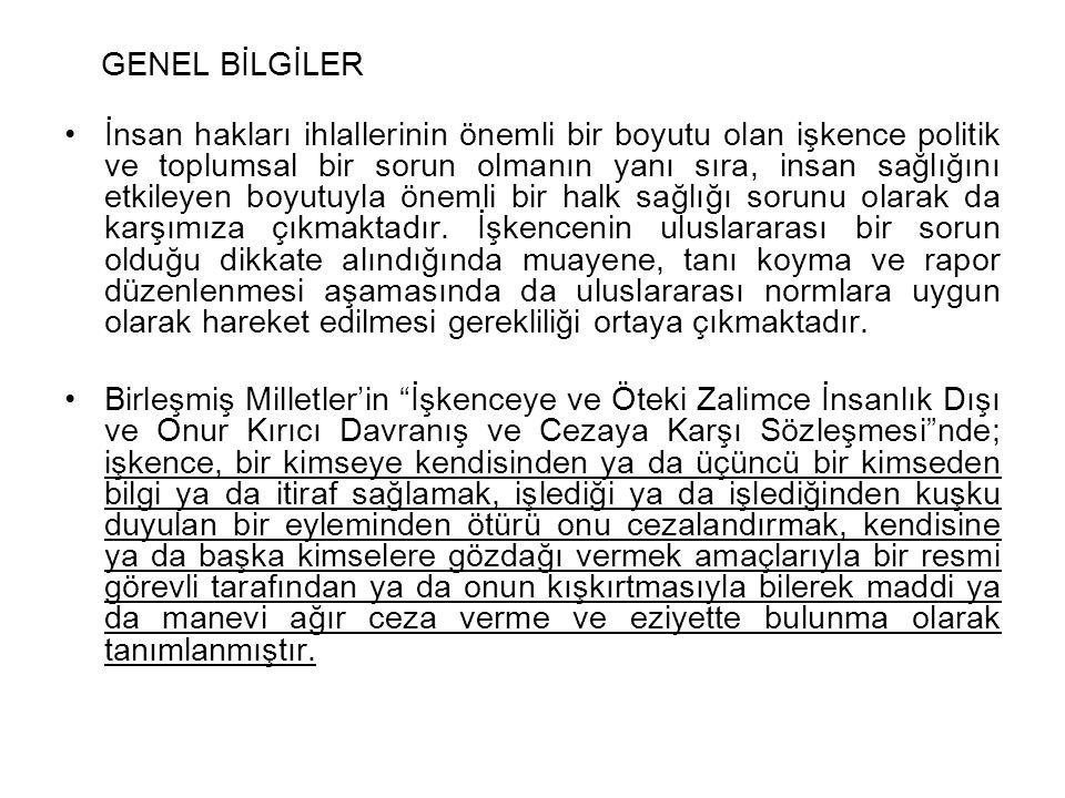 Ülkemizde de işkence anayasal bir suçtur.Türkiye Cumhuriyeti Anayasa'sının 17.