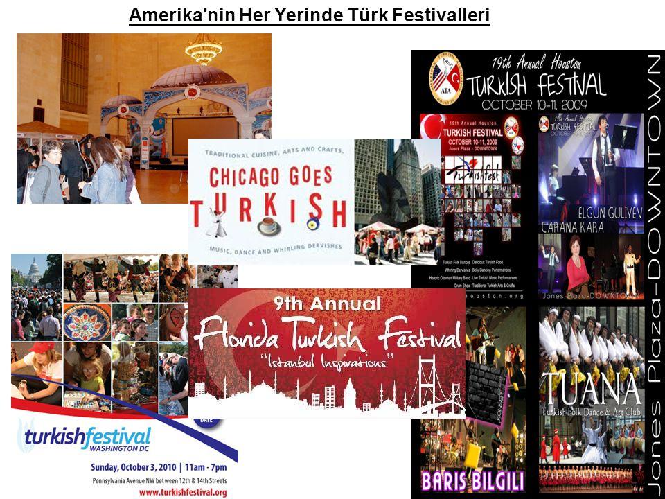 Amerika'nin Her Yerinde Türk Festivalleri
