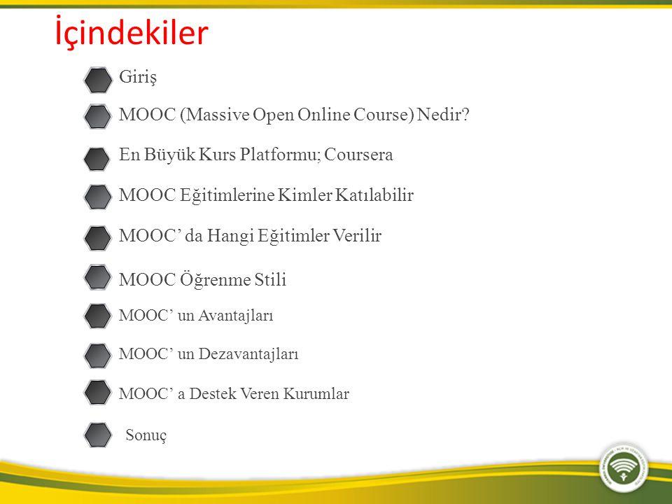 Konularına göre MOOClar http://www.openeducationeuropa.eu/en/european_scoreboard_moocs
