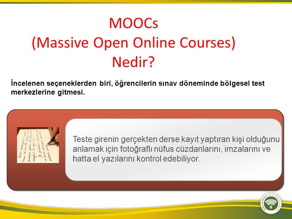 Üniversite seviyesinde dersler verilen Coursera en büyük MOOC platformu.