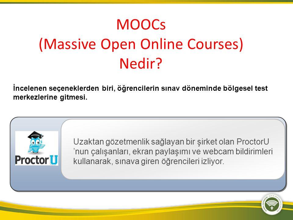 MOOCs (Massive Open Online Courses) Nedir?