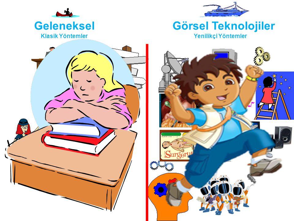 Geleneksel Klasik Yöntemler Görsel Teknolojiler Yenilikçi Yöntemler