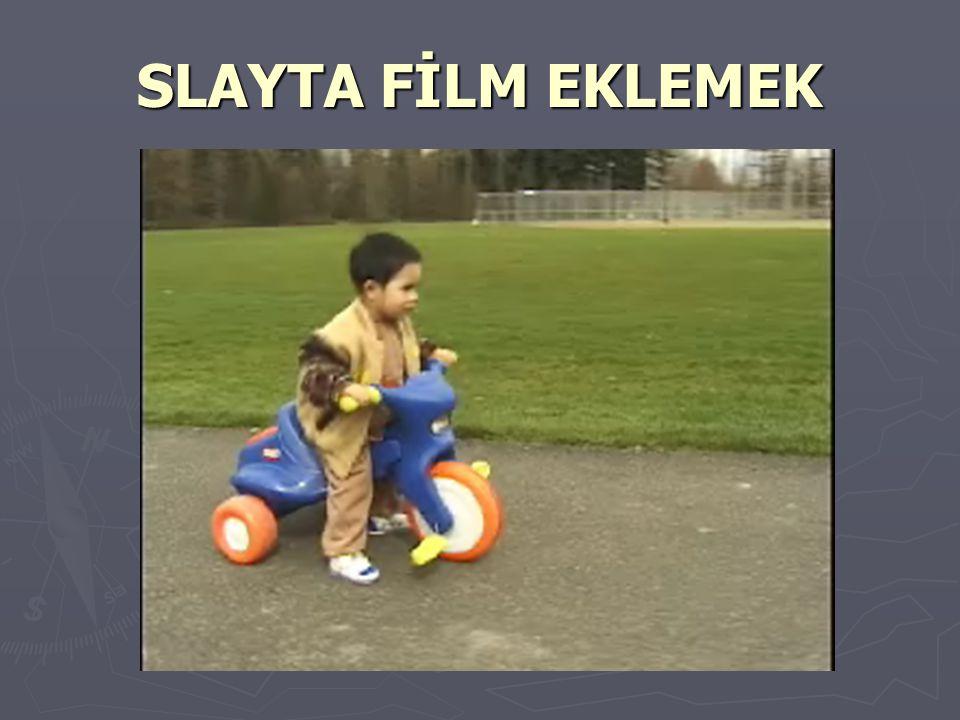 SLAYTA RESİM EKLEMEK