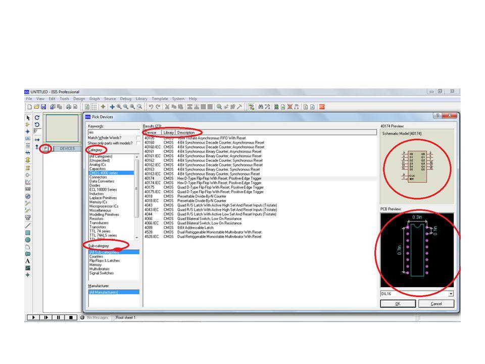 daha sonra resimdeki halka içinde işaretli yeşil x şeklindeki Ratsnest Mode butonuna tıklıyoruz.