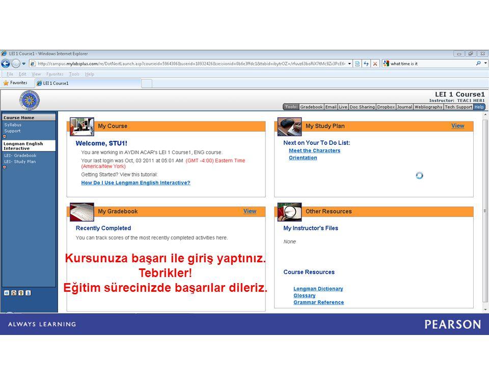 Sistem Gereksinimleri PC Uyumlu Bilgisayarlar için: İşletim Sistemi: Windows® 2000, XP, veya Vista Web Tarayıcı: Internet Explorer® 6.0 veya üstü / Firefox® 2.0 veya üstü Plug-ins: Adobe® Reader 7 veya üstü, Adobe® Flash Player 8 veya üstü, Java™ 1.4.2 veya üstü Macintosh Bilgisayarlar için: İşletim Sistemi : OS X 10.3.9 veya üstü Web Tarayıcı : Safari® 2.0 veya üstü / Firefox® 2.0 veya üstü Plug-ins: Adobe® Reader 7 veya üstü, Adobe® Flash Player 8 veya üstü, Java™ 1.4.2 veya üstü Bütün Bilgisayarlar için: Donanım: Kulaklık veya hoparlör, mikrofon Internet Bağlantısı: DSL, Cable/Broadband, T1, vb.