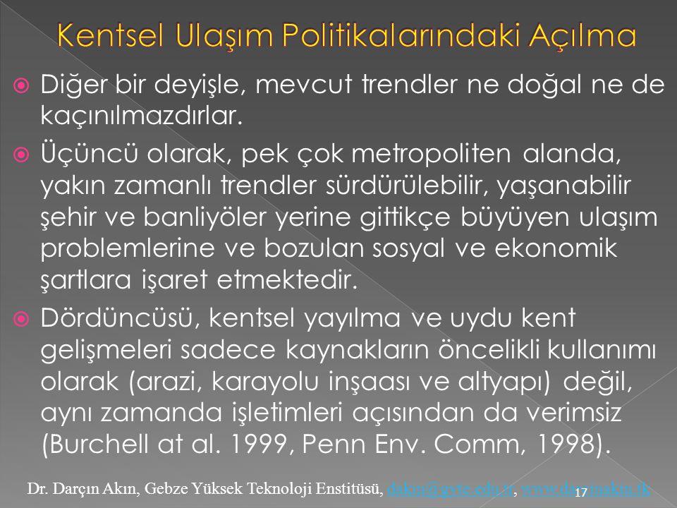 Dr. Darçın Akın, Gebze Yüksek Teknoloji Enstitüsü, dakin@gyte.edu.tr, www.darcinakin.tkdakin@gyte.edu.trwww.darcinakin.tk  Diğer bir deyişle, mevcut