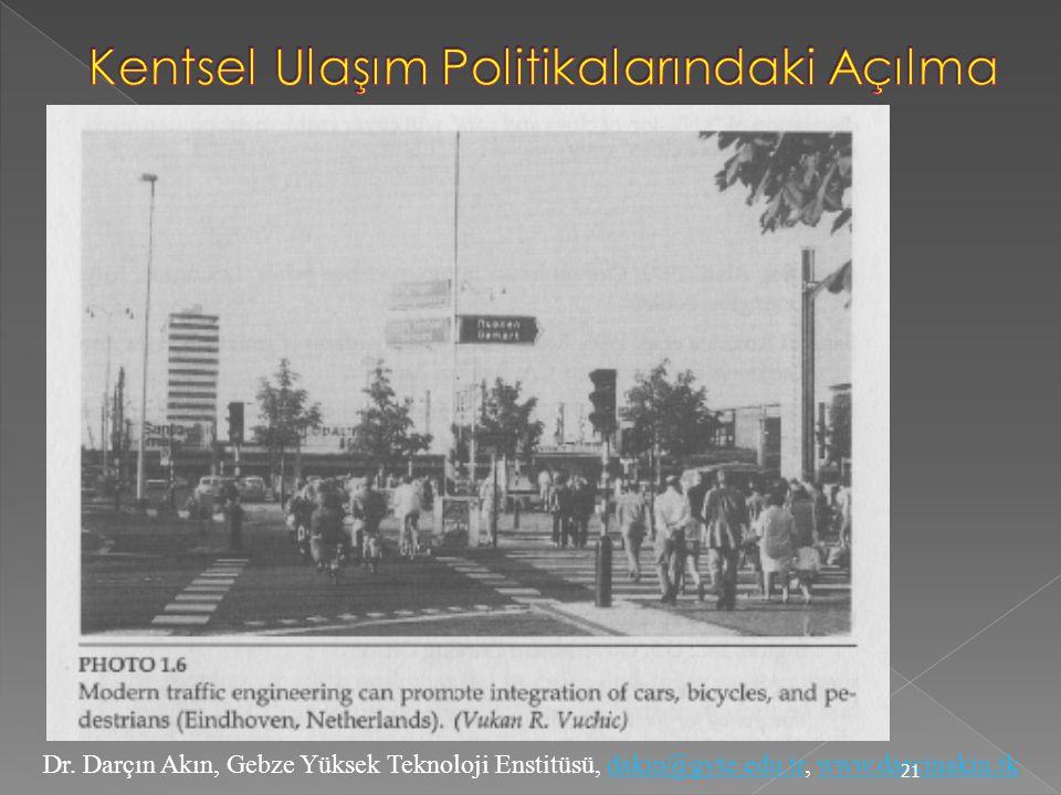 Dr. Darçın Akın, Gebze Yüksek Teknoloji Enstitüsü, dakin@gyte.edu.tr, www.darcinakin.tkdakin@gyte.edu.trwww.darcinakin.tk 21