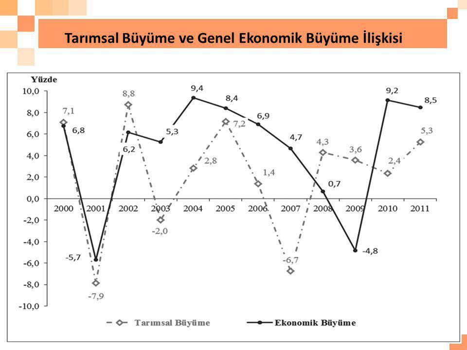 Tarımsal Büyüme ve Genel Ekonomik Büyüme İlişkisi 39