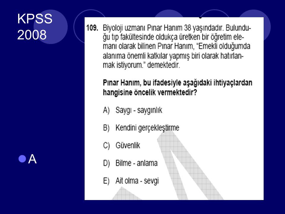 KPSS 2008 A
