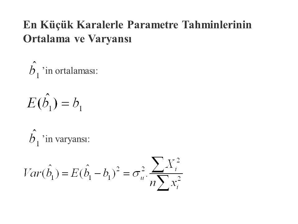 Bir tahmincinin örnekleme dağılımı anakütleden seçilebilecek aynı büyüklükteki örneklerin lerin dağılımıdır.