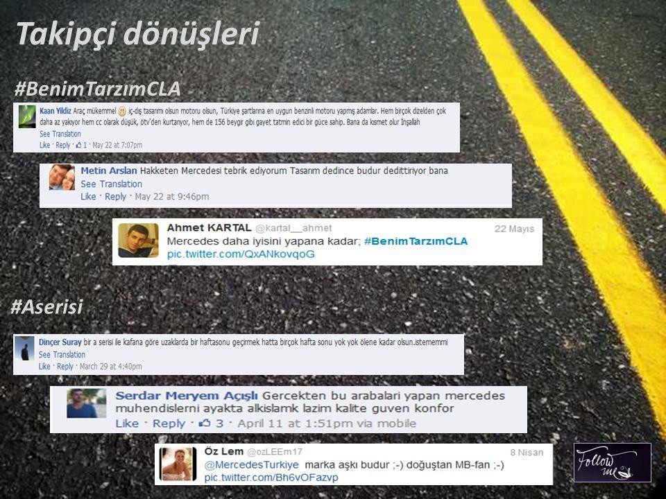 Takipçi dönüşleri #BenimTarzımCLA #Aserisi
