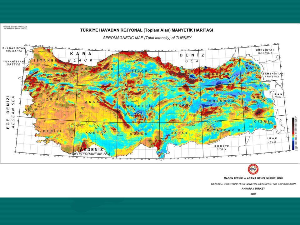 Sındırgı-Çakıllı Örtülü Altın Cevheri Beklenilen Alan ve Çevresinin Rezidüel Gravite ve Havadanmanyetik Anomalileri 3 Boyutlu, Kabartı Görüntüsü GraviteHavadanmanyetik