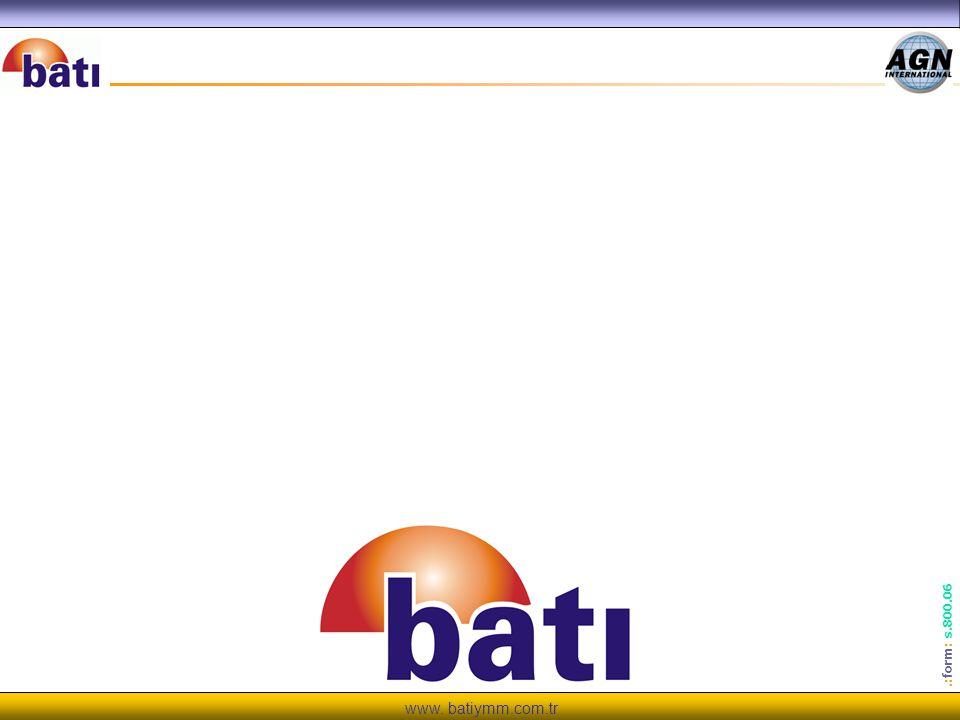 www. batiymm.com.tr.: form : s.800.06 TEŞEKKÜRLE R