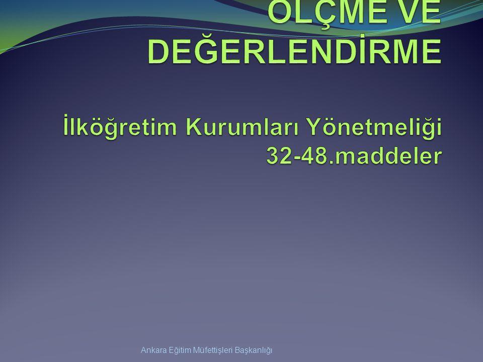 Ankara Eğitim Müfettişleri Başkanlığı