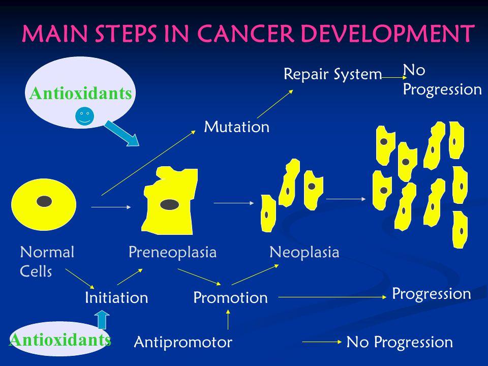 Kanser oluştuktan sonra ilaç ile veya cerrahi tedavisi zor, zahmetli ve pahalıdır.