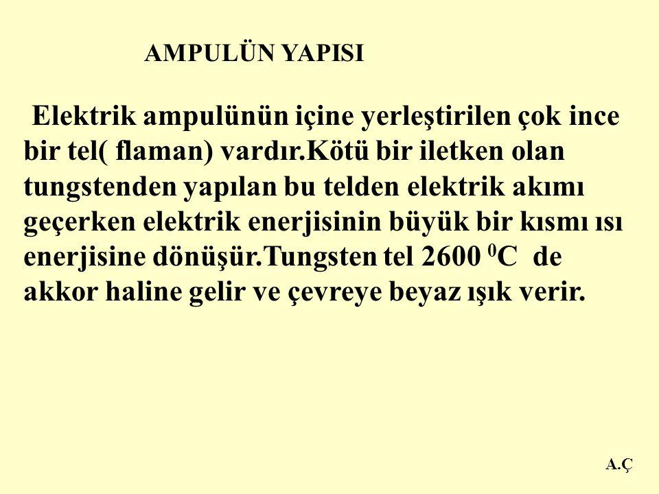 AMPULÜN YAPISI A.Ç