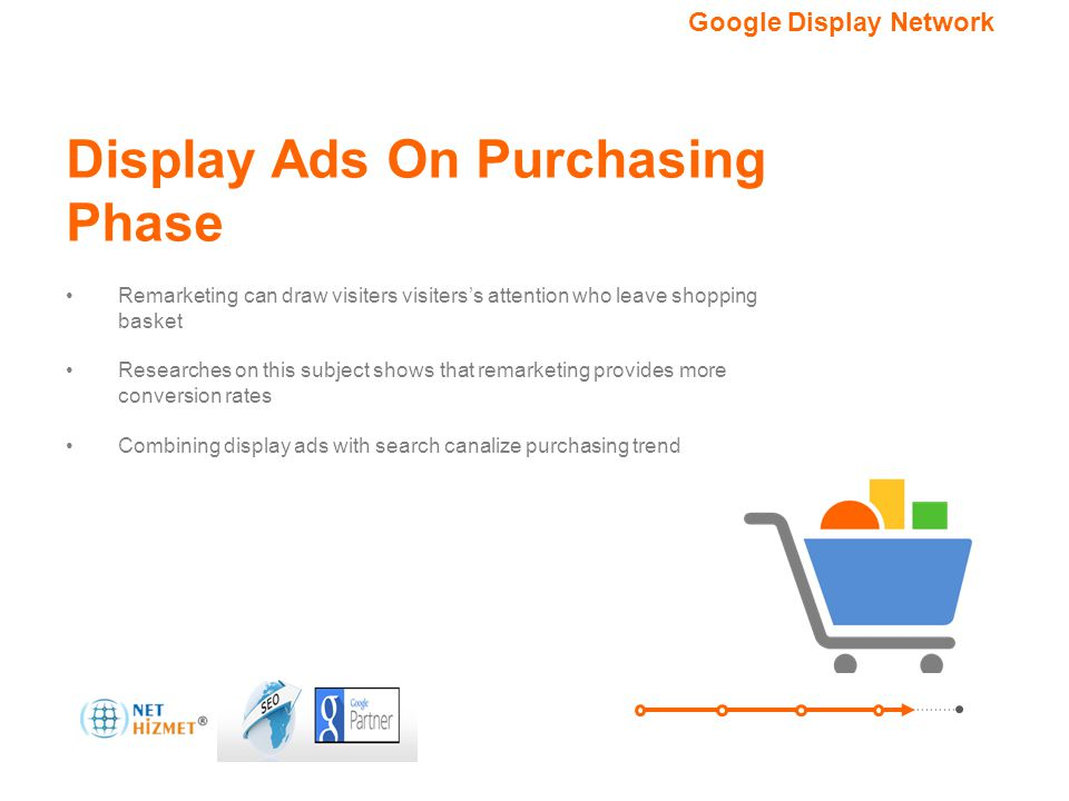 Hedefleme seçeneğiniz. Google Görüntülü Reklam Ağı Display Ads On Purchasing Phase Remarketing can draw visiters visiters's attention who leave shoppi