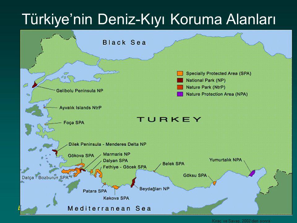 BÇ Sözleşmesi Çalıştayı, 4-9 Nisan 2007, Belek- Antalya Türkiye'nin Deniz-Kıyı Koruma Alanları Kıraç ve Savaş, 2002'den sonra