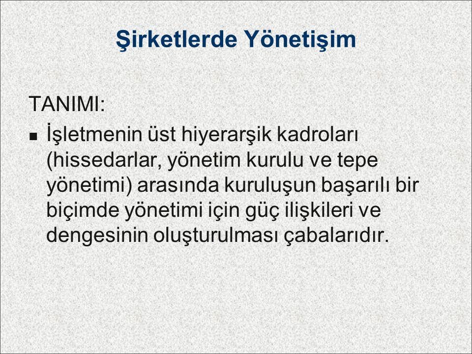 Yönetim Kurulu Atanmalar & Seçimler Karışık düzenlenmiş Yön.