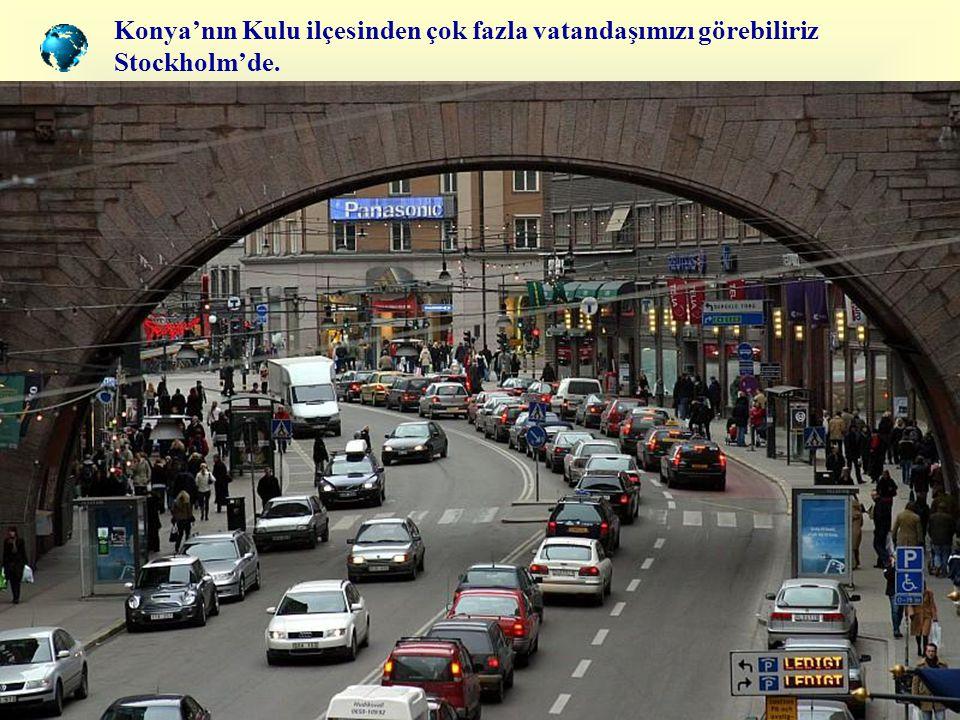 Dünyanın en güzel kadınlarının bulunduğuna inanılır Stockholm'de !