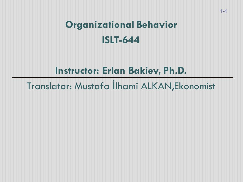 Chapter 6 MOT İ VASYON TEMELLER İ 6-2 Essentials of Organizational Behavior, 11/e Stephen P.