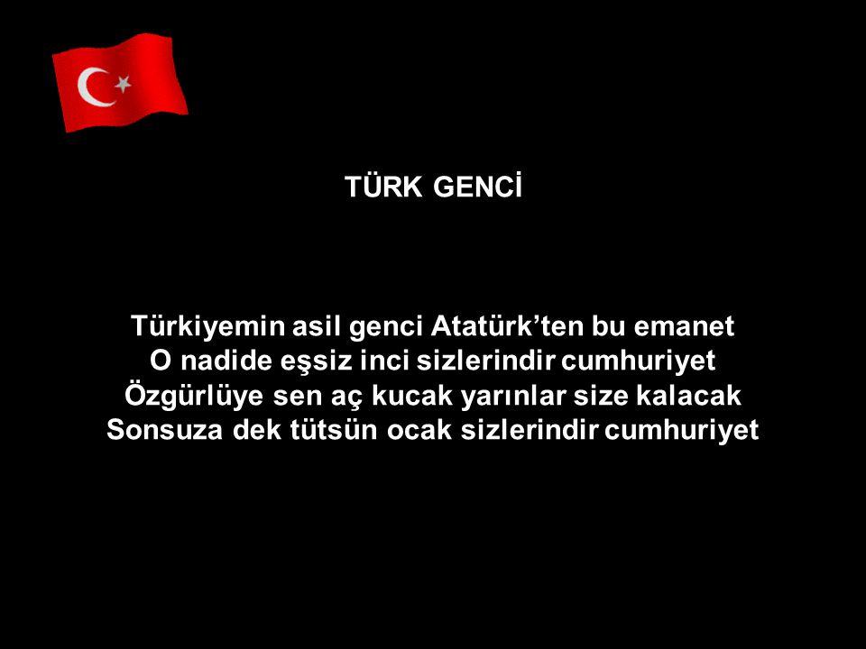 Ey kahraman Türk Kadını, sen yerde sürünmeye değil, omuzlar üzerinde göklerde yükselmeye layıksın.