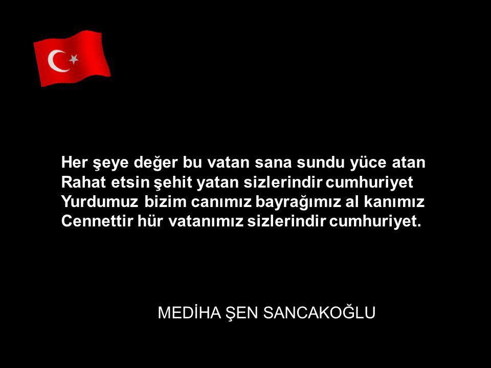 TÜRK GENCİ Türkiyemin asil genci Atatürk'ten bu emanet O nadide eşsiz inci sizlerindir cumhuriyet Özgürlüye sen aç kucak yarınlar size kalacak Sonsuza dek tütsün ocak sizlerindir cumhuriyet