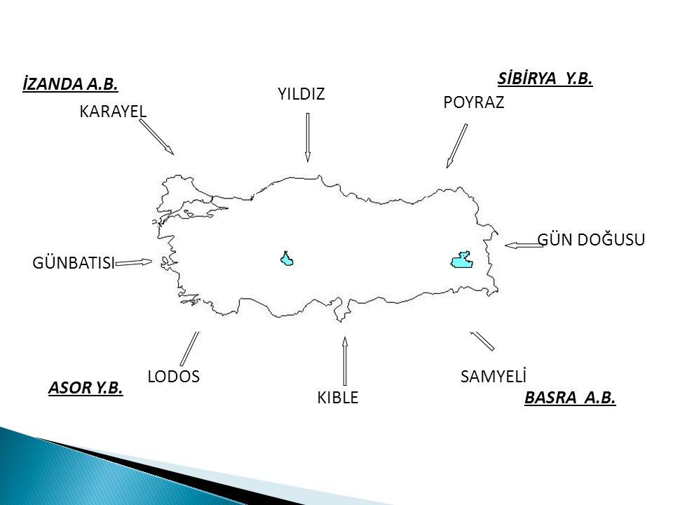 SORU- Aşağıda Türkiye nin Temmuz ayı indirgenmiş izoterm haritası verilmiştir.