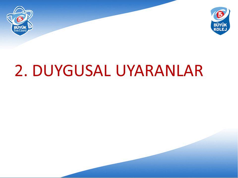 2. DUYGUSAL UYARANLAR