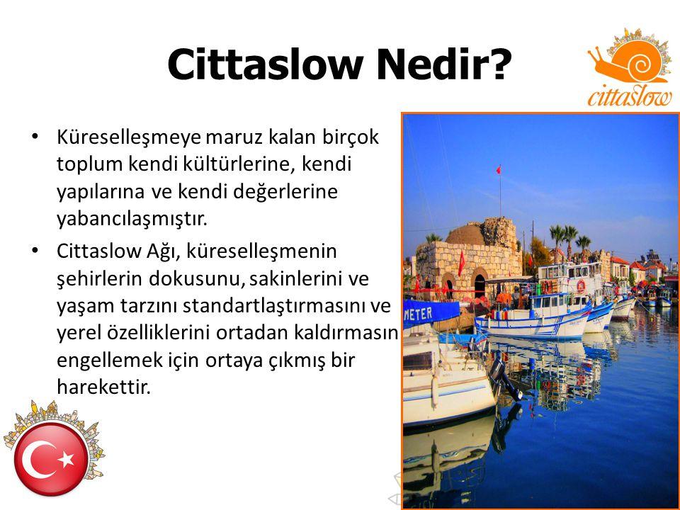 Cittaslow: Bir yerel kalkınma modeli Cittaslow kentlerin, kendi değerlerine sahip çıkarak kalkınmalarını öngörmektedir.