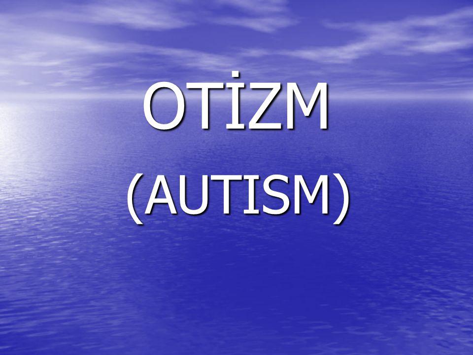 Ağır Otistik Dönem : Ağır Otistik Dönem : Ağır otistik dönemde kalanlar bedenleri gelişmesine rağmen sosyal seviyede bebeklik veya ilk çocukluk döneminde kalırlar.