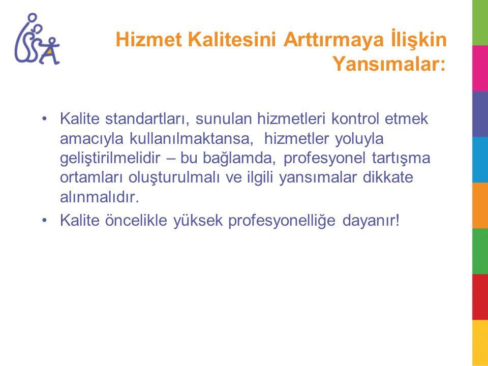 Kalite Kullanımına Yönelik Mekanizmalar 1.