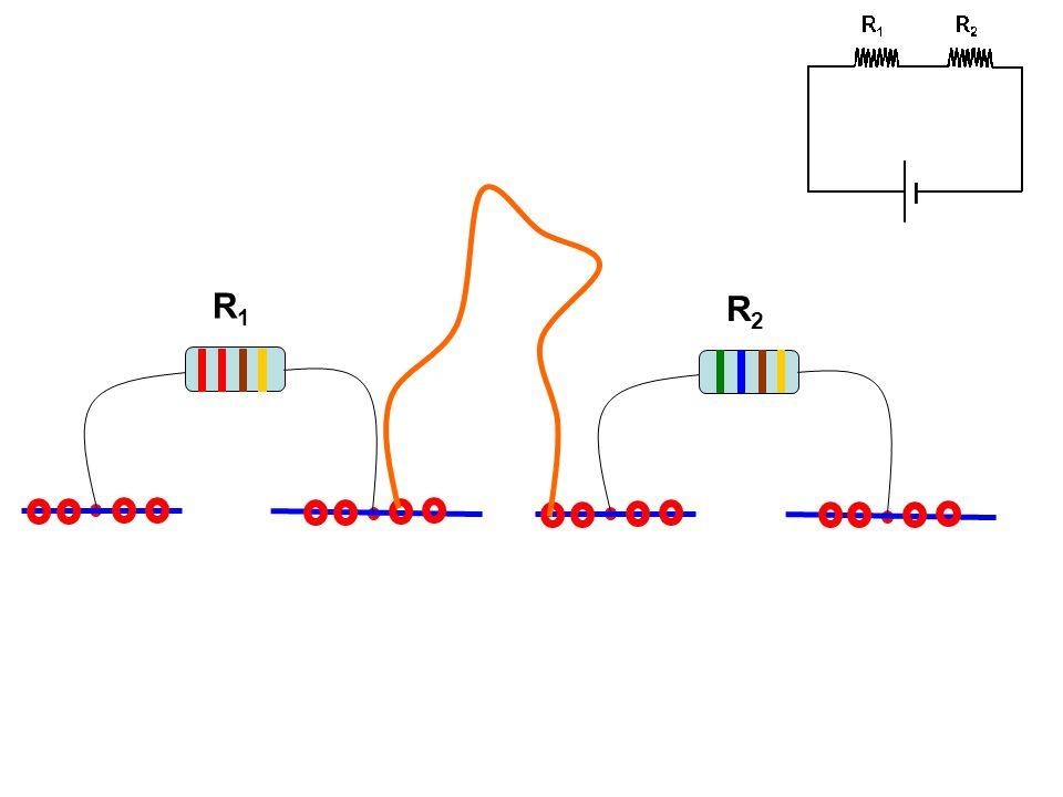 İki direnç arasındaki elektrik bağlantısı, ara kablo farklı bir şekilde yerleştirilerek de yapılabilmektedir.