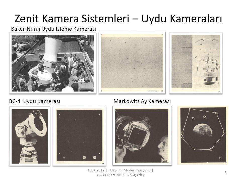 Zenit Kamera Sistemleri – Uydu Kameraları TUJK 2012 | TUYS'nin Modernizasyonu | 28-30 Mart 2012 | Zonguldak 3 Baker-Nunn Uydu İzleme Kamerası BC-4 Uyd